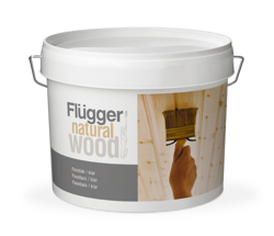Flügger Natural Wood Panel Lacquer, transparent 3 л