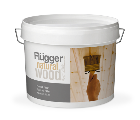 Flugger Natural Wood Panel Lacquer, transparent 10 л