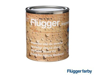 Flugger Impredur Wood Oil Масло 0.75 л base 10 масло по дереву
