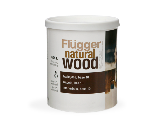 Flugger Natural Wood Stain 0.75л base 11