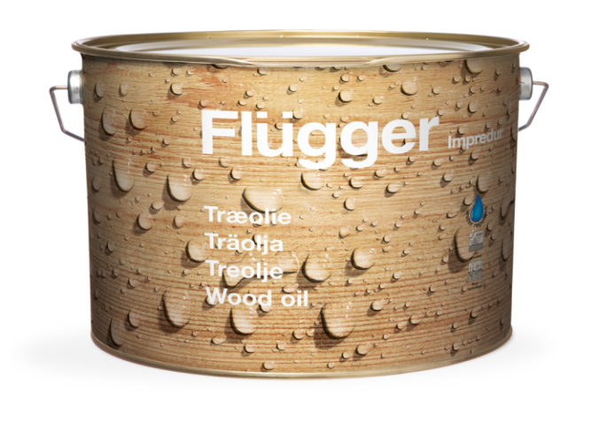 Flugger Impredur Wood Oil масло 2.8 л base 10  масло по дереву