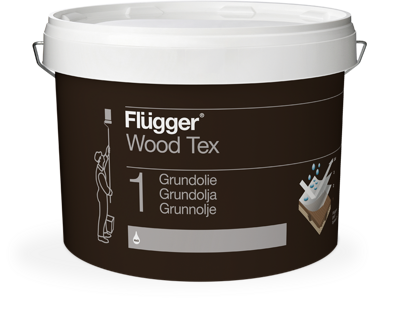 Flügger Wood Tex Grundolie (Priming Oil)